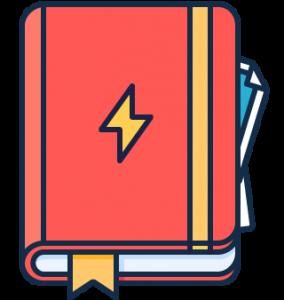 Gelockte rote natürliche Haar-Mohikaner-Frisuren